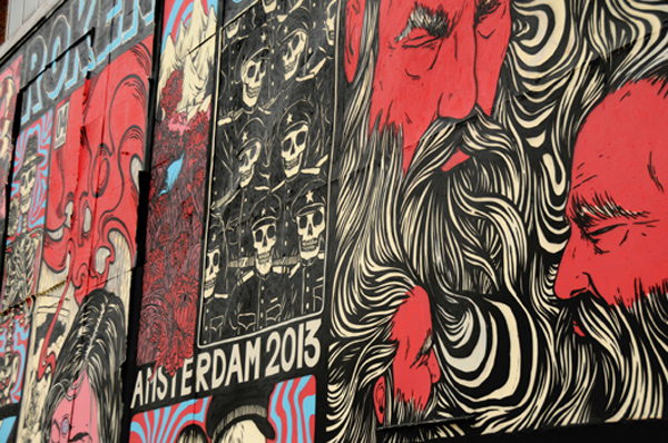 New wall and upcoming show from Broken Fingaz: jux_broken_fingaz6.