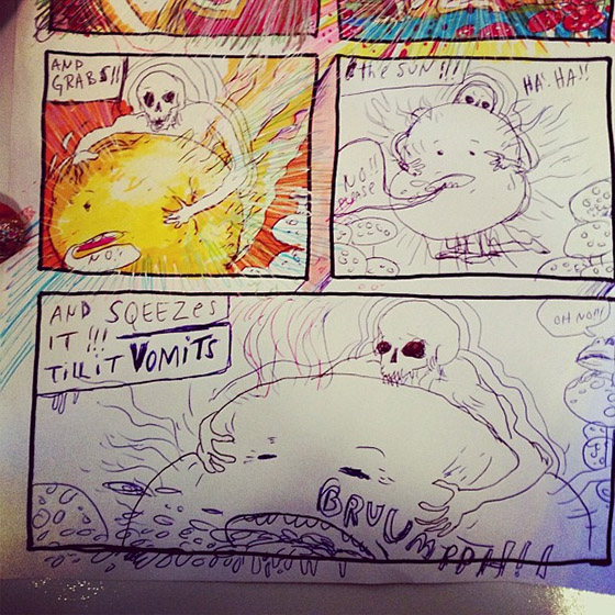 "Interview: Wayne Coyne's Comic, ""The Sun is Sick"": coy.jpg"