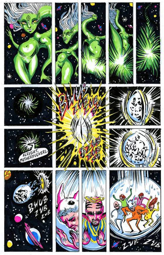 "Interview: Wayne Coyne's Comic, ""The Sun is Sick"": lys.jpg"