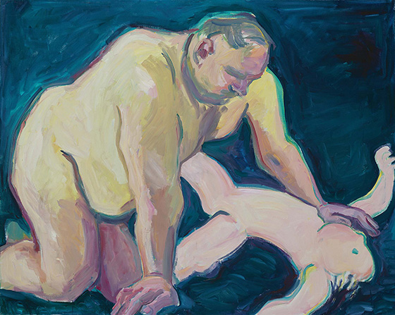 "Maria Lassnig's ""Body Awareness"": Bugbear1.jpeg"