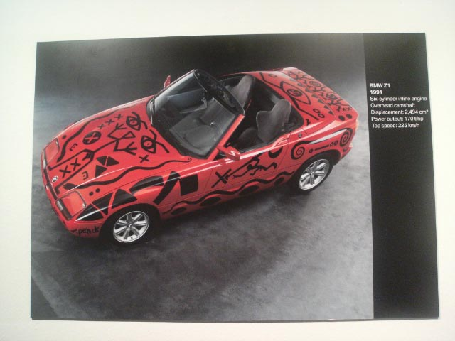 The BMW Art Car: 1991_BMW_Z1_Art_Car_by_A._R._Penck_high_angle.jpg