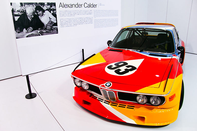 The BMW Art Car: 800px-Calder_CSL.jpg