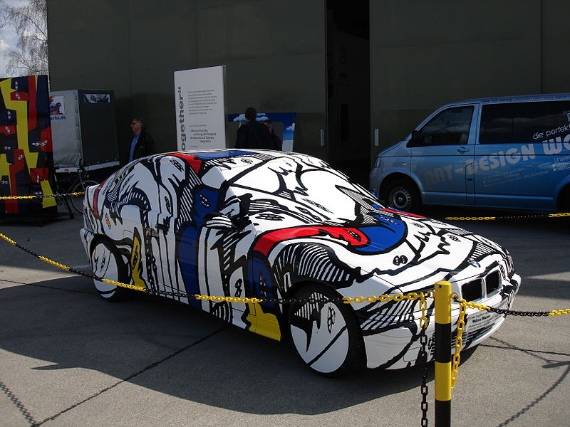 The BMW Art Car: 800px-Kunstauto_Maurer.jpg