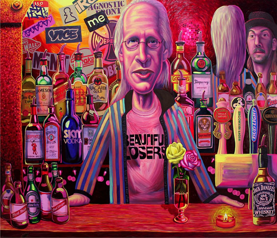 Paintings by Tom Sanford: The-Bar-on-2nd-Ave.jpg