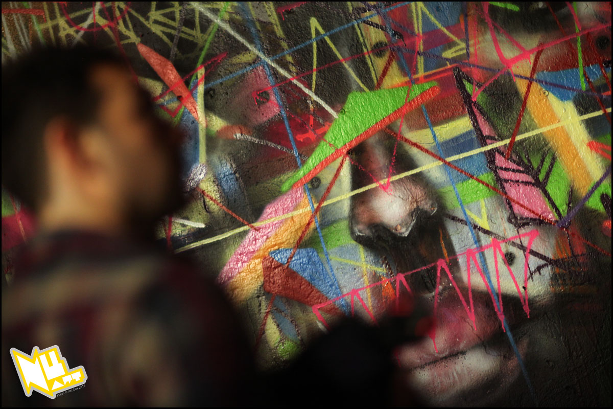 Nuart 2013: Preview, Part 1: IMG_4552_1200_Artist_Choe_Nuart_2013_Photo_©_Ian_Cox_2013_1.jpg