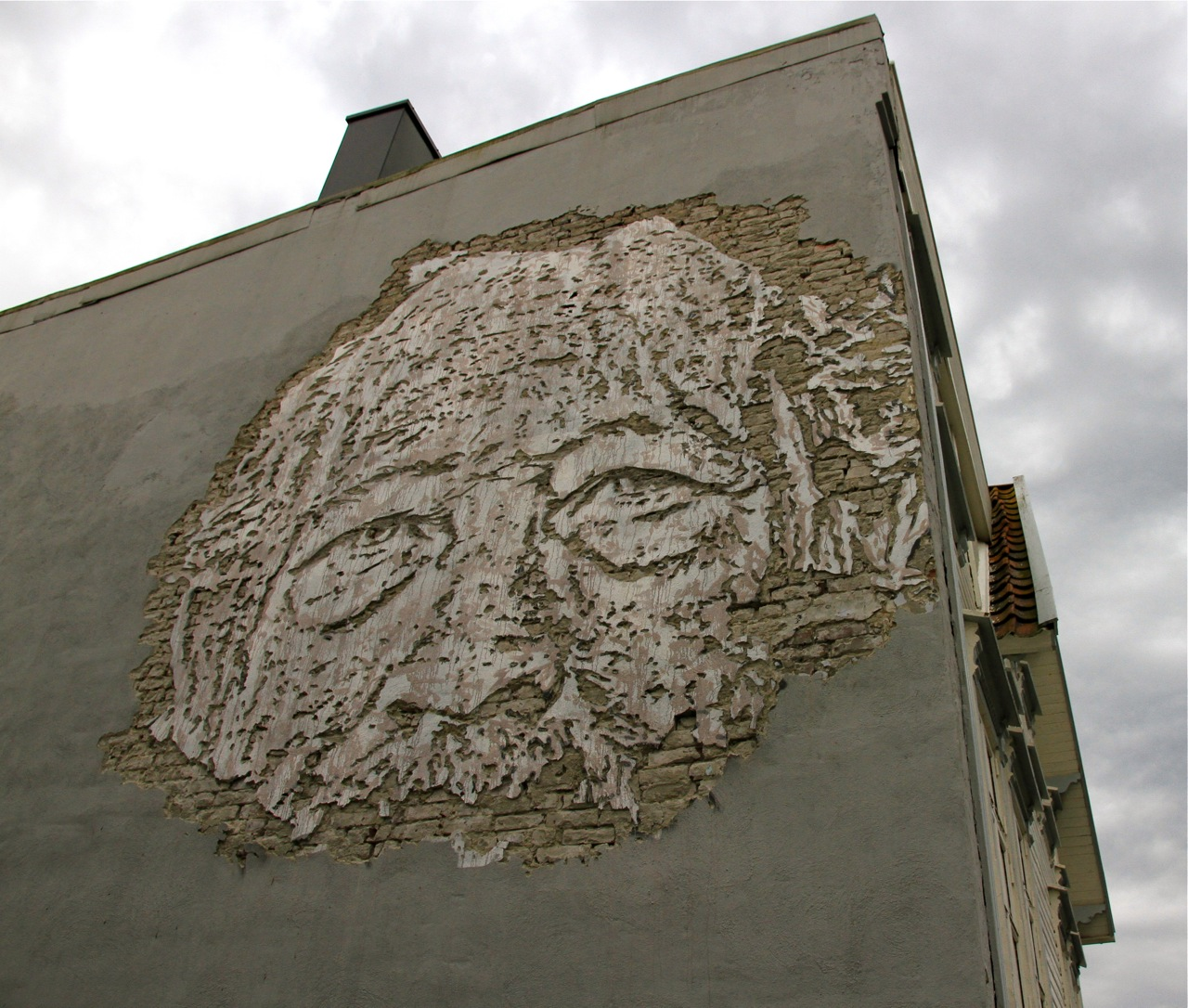 Nuart 2013: Street Pieces, Part 1: Vhils IMG_1331.jpg