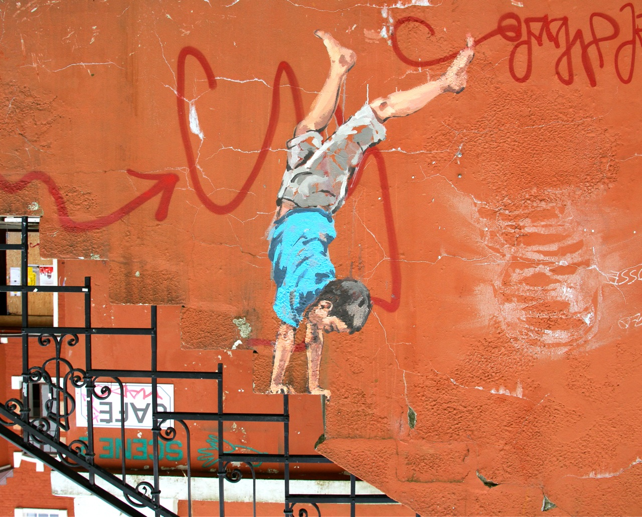 Nuart 2013: Street Pieces, Part 2: Ernest Zacharevic IMG_1420.jpg