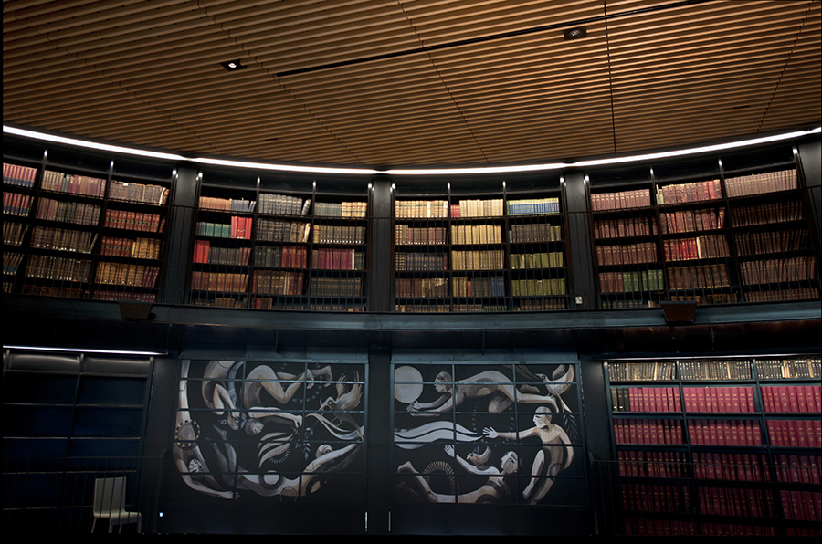 Lucy McLauchlan For The New Library Of Birmingham: LibraryTravelatorfw.jpg