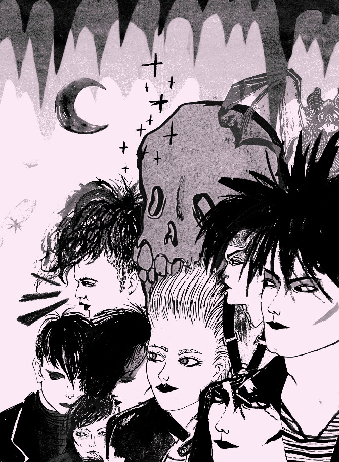 Jenny Zych's Illustrations: gothparty1.jpg