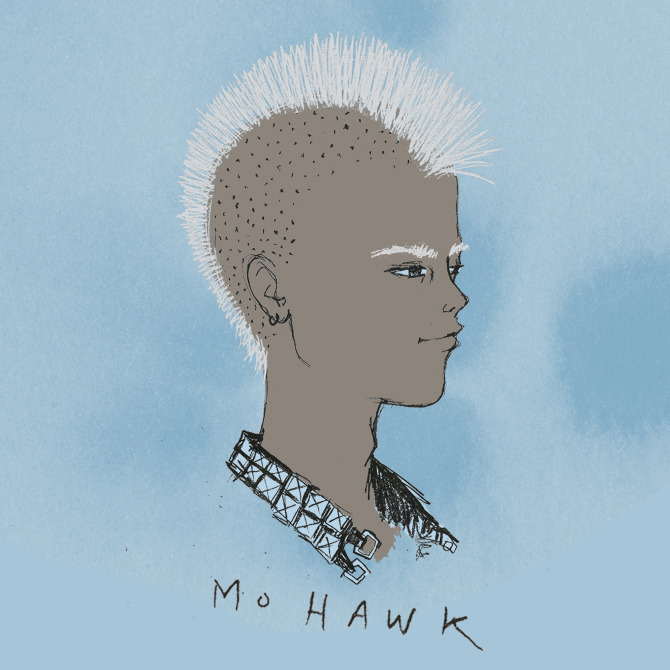 Jenny Zych's Illustrations: mohawk.jpg