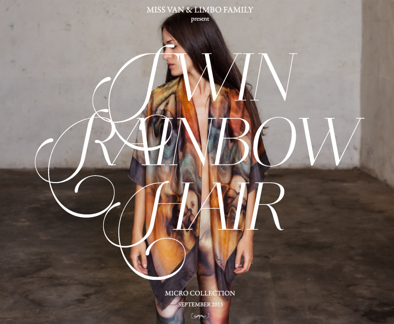 "Miss Van x Limbo Family Studio ""TwinRainbowHair"" Collection: Screen shot 2013-09-12 at 3.51.59 PM.png"