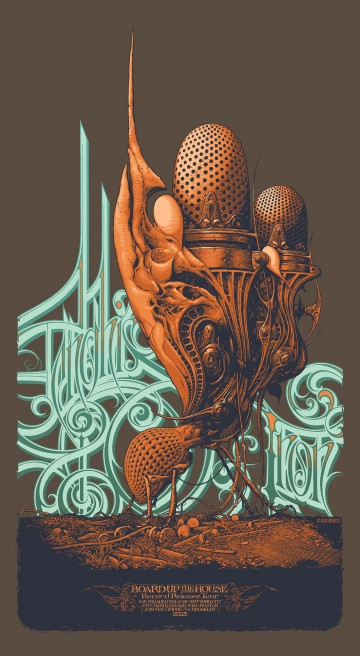 The Insanity of Aaron Horkey: GenghisTron-360x656.jpg