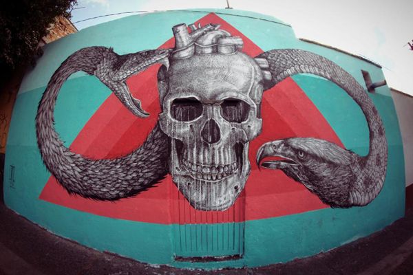 New mural by Alexis Diaz in Queretaro, Mexico: jux_alexis_diaz1.jpg