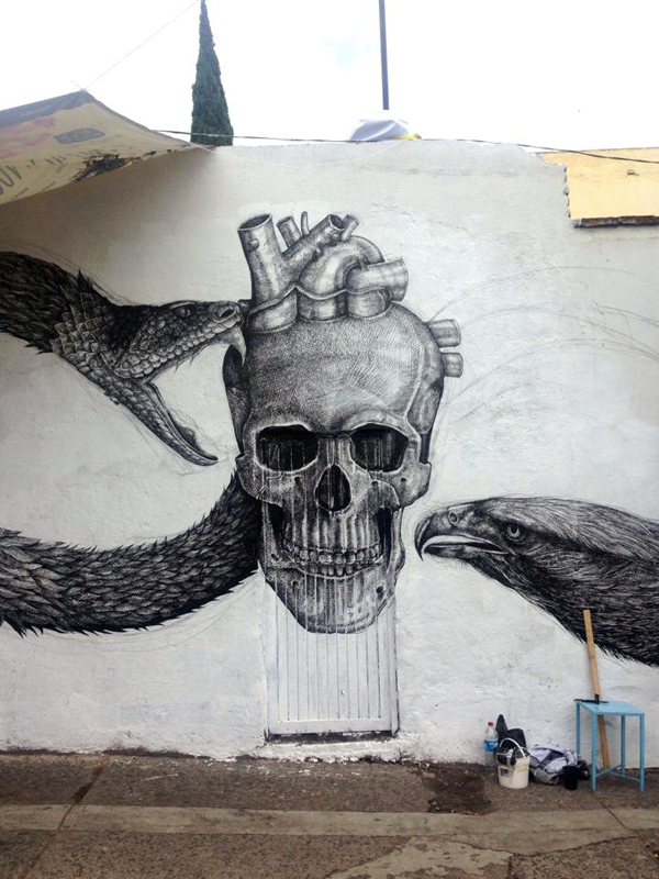New mural by Alexis Diaz in Queretaro, Mexico: jux_alexis_diaz3.jpg