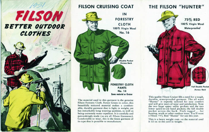 Filson: A Factory Tour: Fil-1951-Flyer-001.jpg