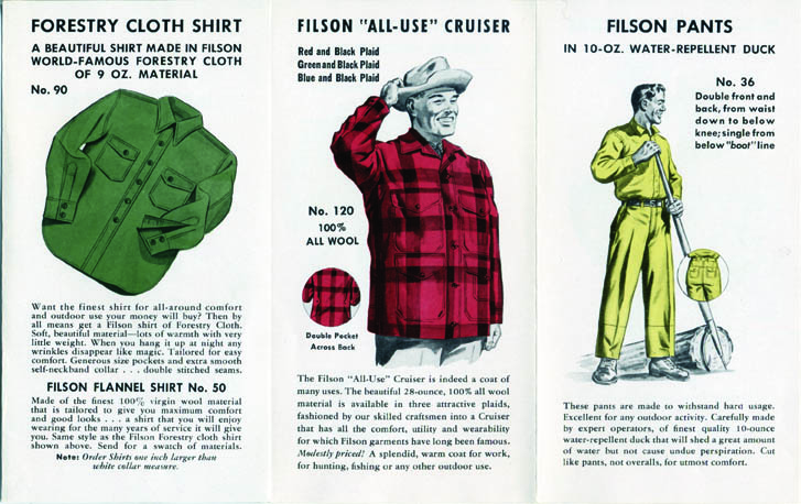 Filson: A Factory Tour: Fil-1951-Flyer-003.jpg
