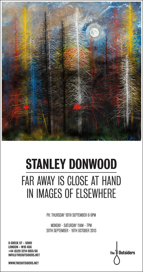 "Stanley Donwood ""Far Away Is Close At Hand in Images of Elsewhere"" @ The Outsiders, London: image001.jpg"