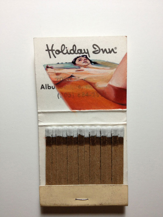 Joseph Martinez: New Matchbook Paintings: Joseph-Martinez_Matchbook-Paintings_10.jpg