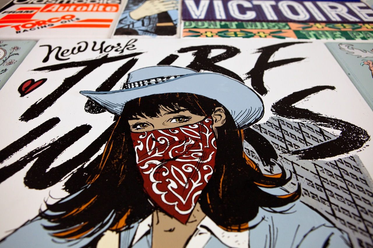 "Faile x Juxtapoz Google Hangout in conjunction with ""WHERE WILD WON'T BREAK"" @ Dallas Contemporary: FaileDallas004.jpeg"