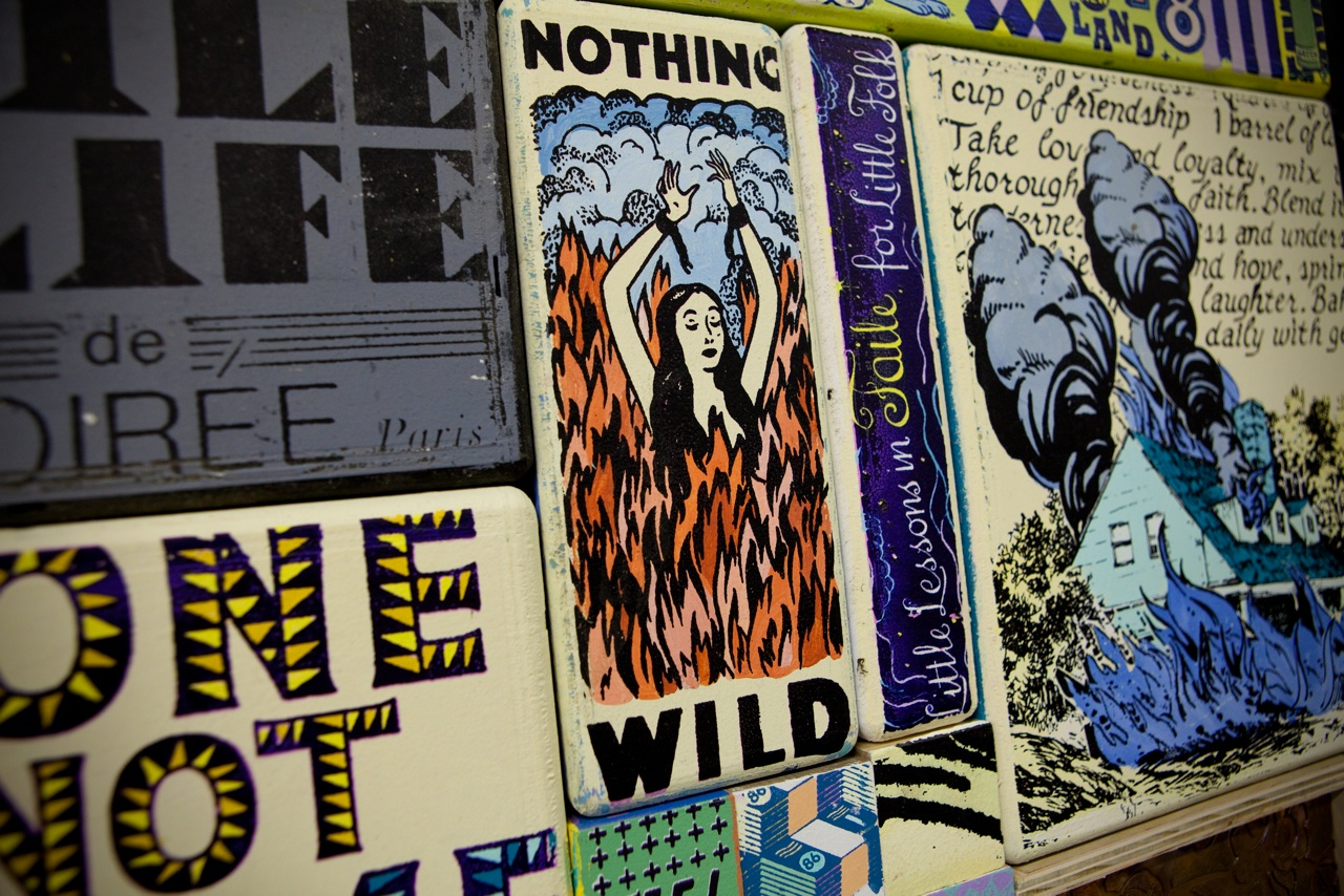"Faile x Juxtapoz Google Hangout in conjunction with ""WHERE WILD WON'T BREAK"" @ Dallas Contemporary: FaileDallas005.jpg"