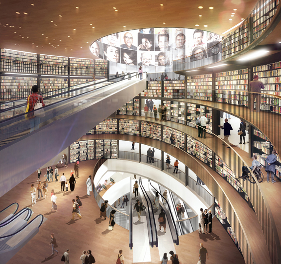 Birmingham, England Gets a Beautiful New Library : Library-of-Birmingham-square.jpg