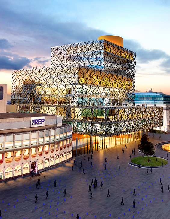 Birmingham, England Gets a Beautiful New Library : Library-of-Birmingham-upright.jpg