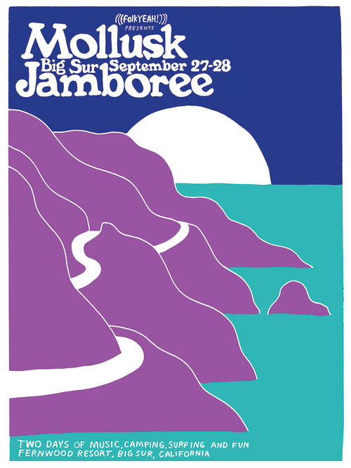 Mollusk Surf Shop's Big Sur Jamboree, Sept 27—28, 2013: mollusk-jamboree-poster.jpg
