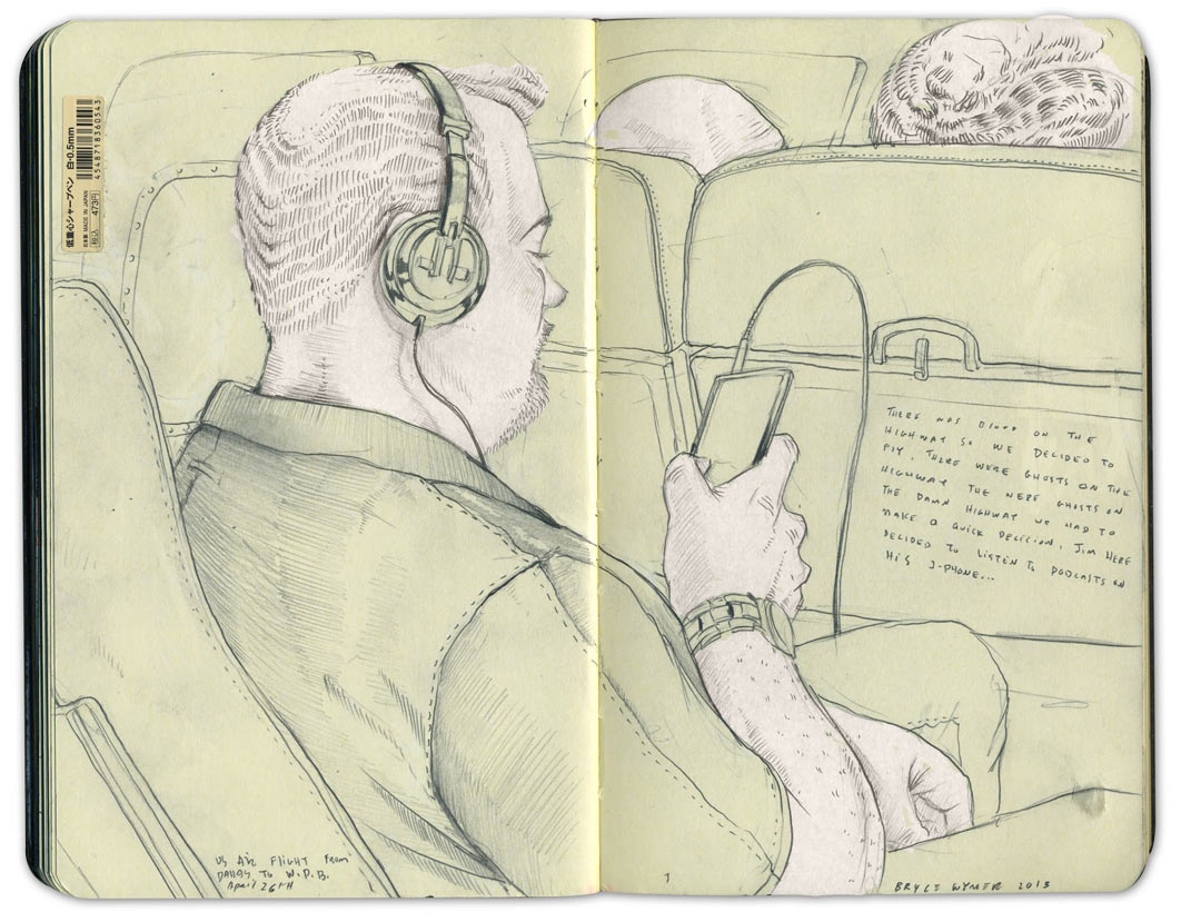 Sketchbook Illustrations by Bryce Wymer: BW_US_Air.jpg