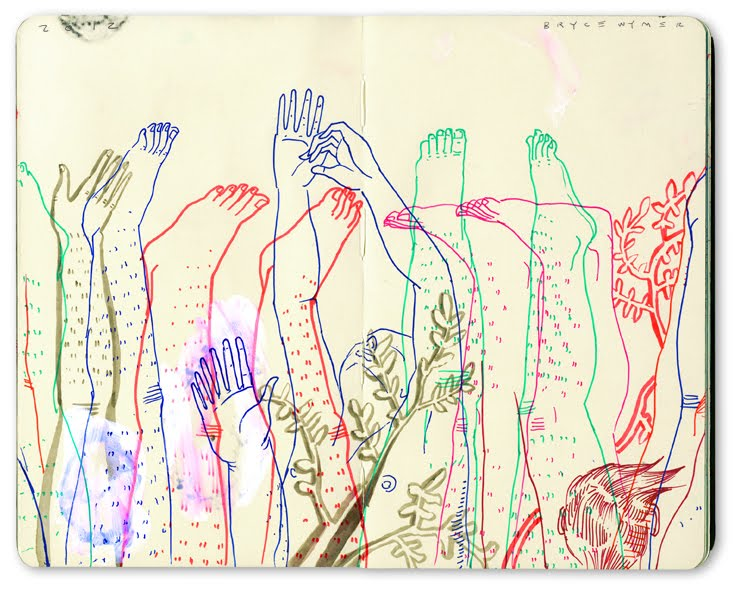 Sketchbook Illustrations by Bryce Wymer: Feet Hands.jpg