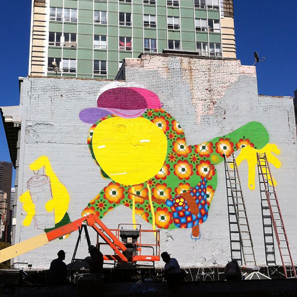Os Gemeos repaints roof in San Francisco: jux_os_gemeos4.jpg