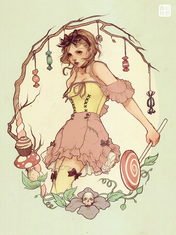 Artwork by Jasmin Darnell : gretel.jpg
