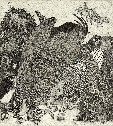 Incredible Etchings by Etsuko Fukaya: 11_b.jpg