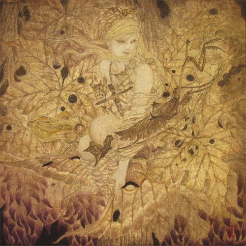 Paintings by Masaaki Sasamoto: tumblr_mtp4c4ayn71rfltouo1_500.jpg