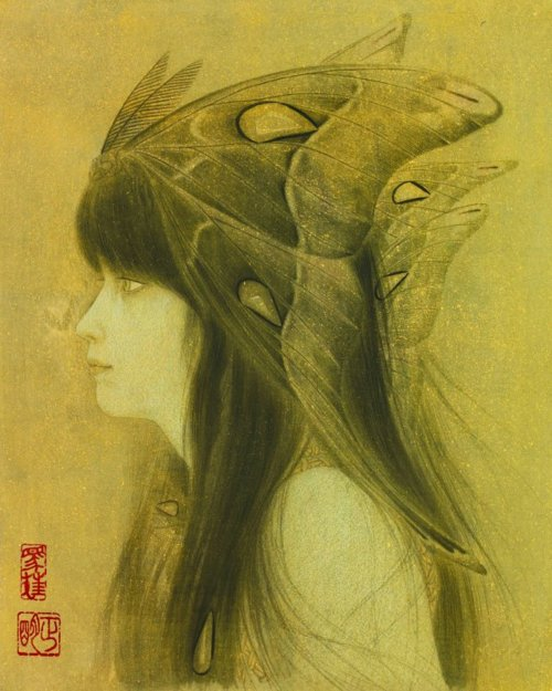 Paintings by Masaaki Sasamoto: tumblr_mtp4c4ayn71rfltouo2_500.jpg