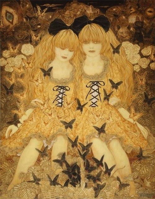 Paintings by Masaaki Sasamoto: tumblr_mtp4c4ayn71rfltouo3_500.jpg