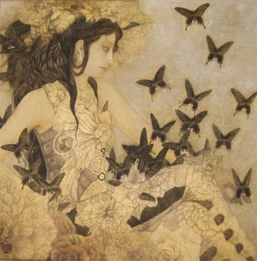 Paintings by Masaaki Sasamoto: tumblr_mtp4c4ayn71rfltouo5_500.jpg