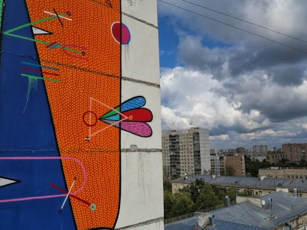 New Mural by Sixe in Moscow, Russia: jux_sixe4.jpg