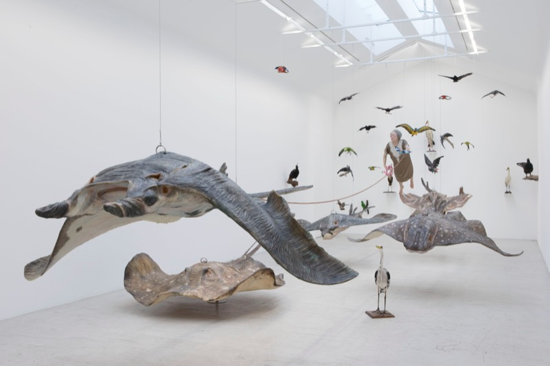 Hyper-realistic Sculptural Installation by Sun Yuan and Peng Yu: Screen shot 2013-09-29 at 5.17.52 PM.png