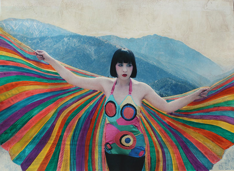 Painted Photographs by Shae Detar: alia-rainbow-BLOG.jpg