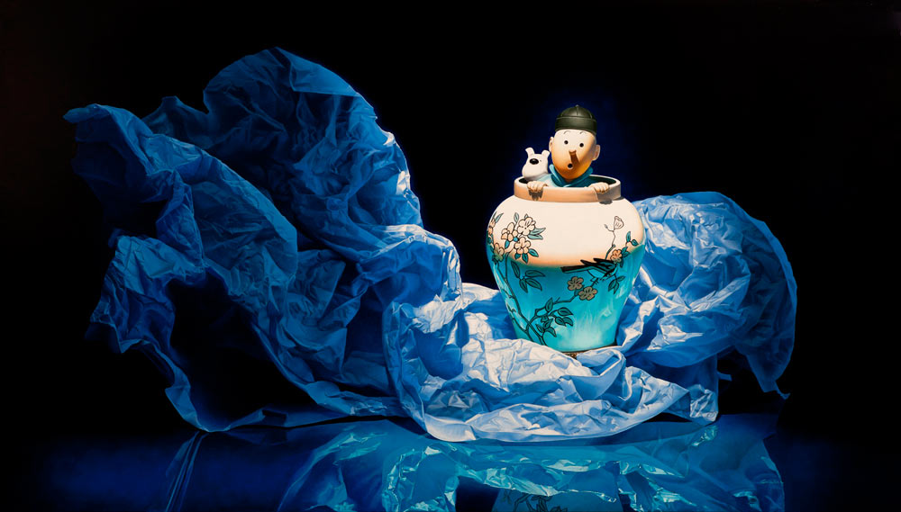 Hyper-realistic Oil Paintings by Francois Chartier: TOTO1.jpg