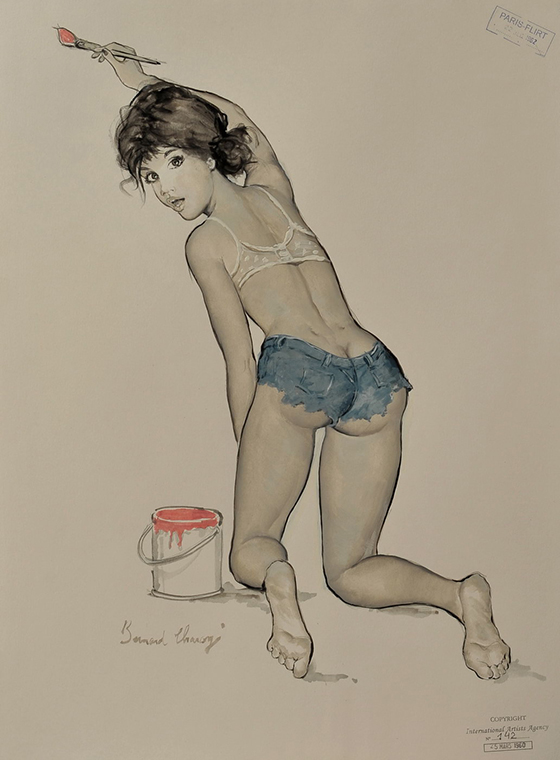 French Pinups by Bernard Charoy: Be