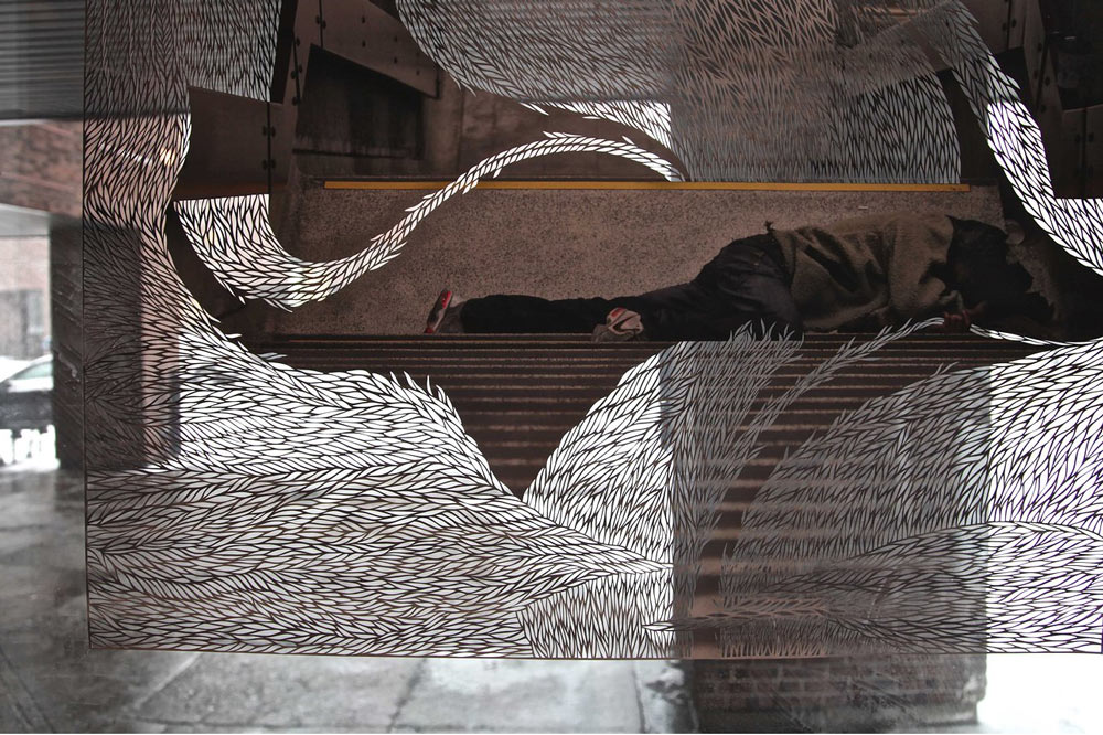 Intricately Cut Newspapers by Myriam Dion: Screen-shot-2013-10-02.jpg
