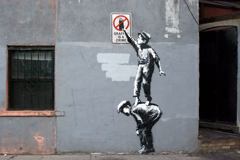 "Banksy ""Better Out Than In"" Days 1—4 Recap: Day1.jpg"
