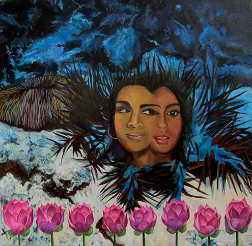 The Work of Chitra Ganesh: P9.-time-pass-cover-painting.jpg