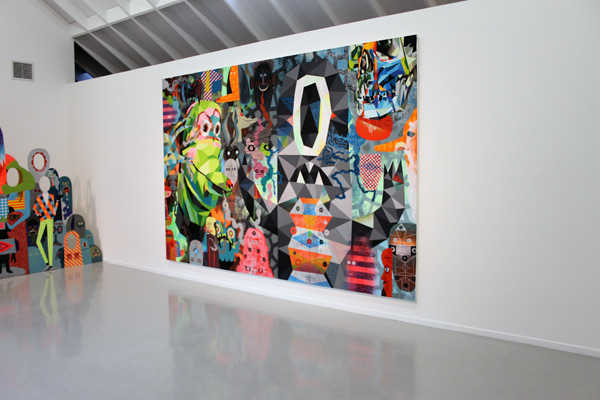 "IN L.A.: TIM BISKUP'S ""CHARGE"" @ MARTHA OTERO GALLERY: charge_8746.jpg"