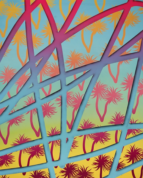 "Preview: Casey Gray ""Tropic"" @ White Walls, SF: blue_hawaii_m.jpg"