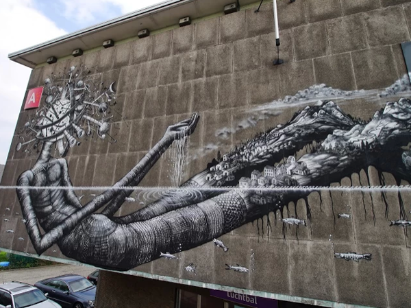 New Mural by Phlegm in Antwerp, Belgium: jux_phlegm5.png