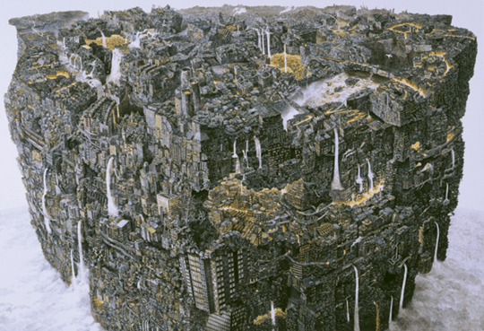 Monumental Illustrations by Manabu Ikeda: JuxtapozMana