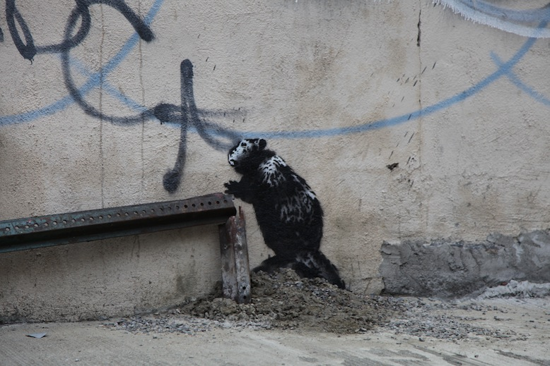 "Banksy ""Better Out Than In"" Day 5—11 Recap: day10.jpg"