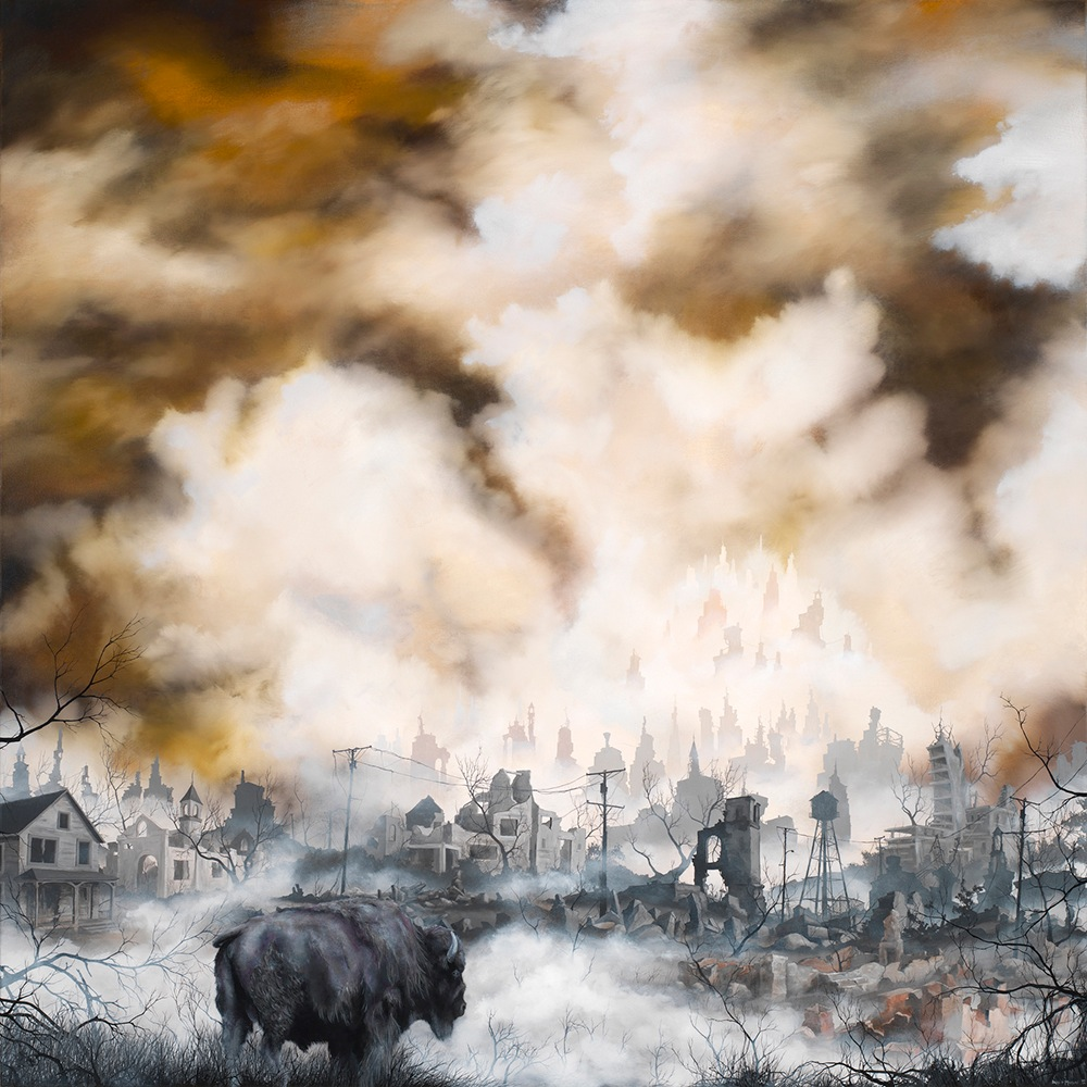 Thinkspace Gallery @ Beyond Eden, October 12—13: Brian Mashburn_Give-Me-A-Home-2012-oil-on-canvas-40x40.jpg